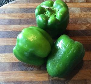 Bell Pepper Green--Each
